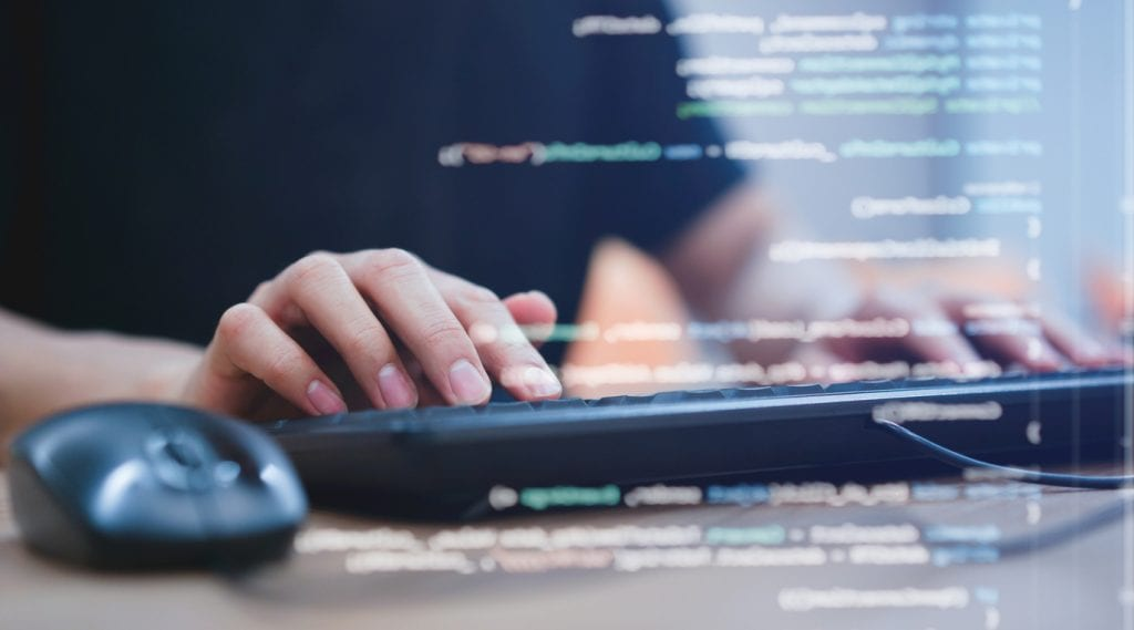 nearshore IT outsourcing while coding for new project.